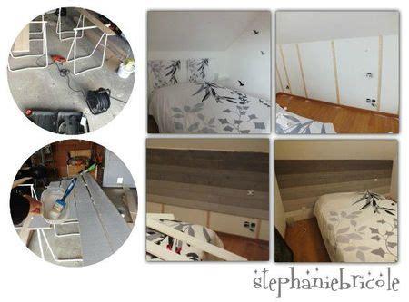 pose tete de lit id 233 e d 233 co une t 234 te de lit en lambris avec un effet de peinture en d 233 grad 233 vid 233 o sur la