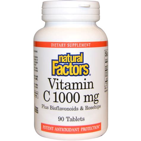 Vitamin C 1000mg factors vitamin c 1000 mg 90 tablets iherb