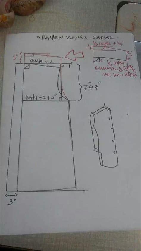 cara membuat pola baju melayu raihan cara menjahit jubah dewasa fesyen jubah moden rachael