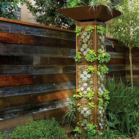 Cheap Ways To Decorate Your Backyard - 25 creative diy vertical gardens for your home