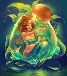 mermaid moon fantasy widescreen hd wallpaper beautiful desktop wallpapers 2014