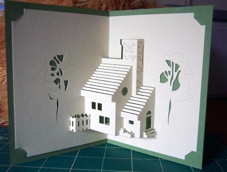 pattern kirigami house marivi s home