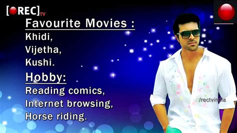 biography movie list tollywood actor ram charan profile biography movies awards