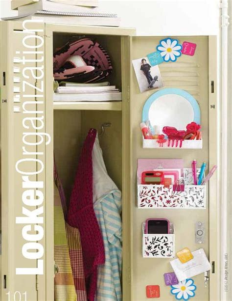 keep your locker neat and tidy at all times organization is key in middle school ask your