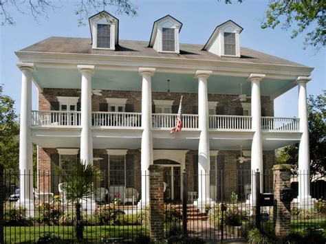 greek revival style house greek revival outdoor space photos hgtv