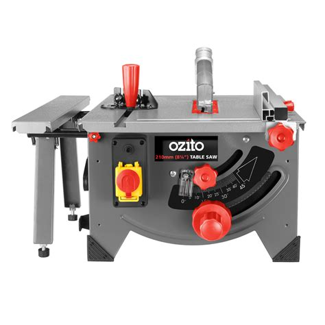 ozito bench saw ozito 1200w benchtop table saw bunnings warehouse