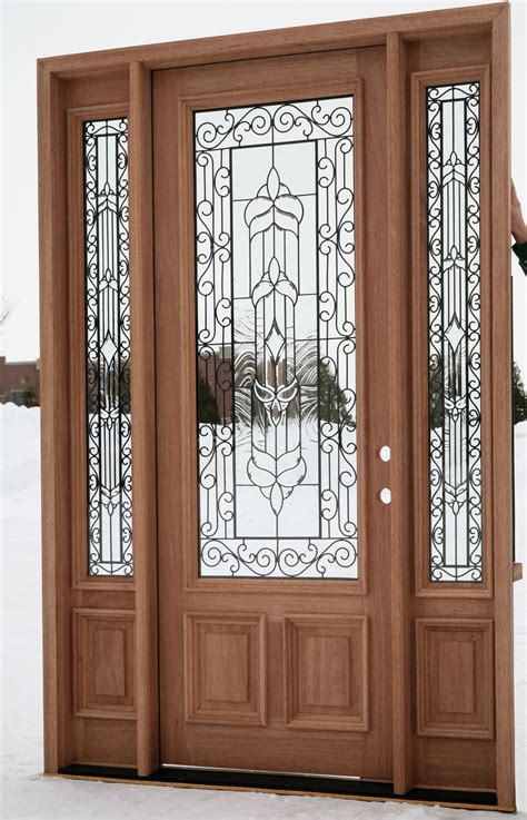 andersen exterior glass bevil doors glass exterior door marceladick