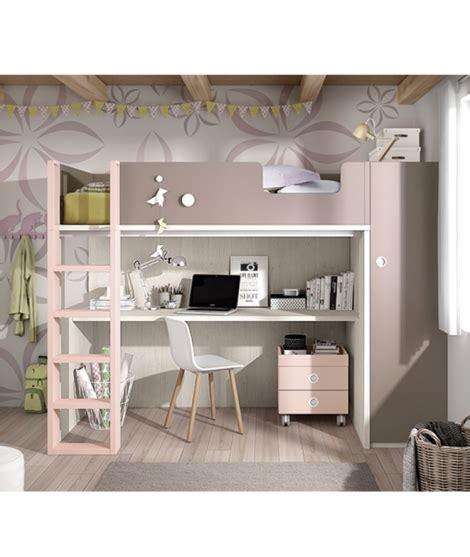litera escritorio debajo litera con escritorio y armario