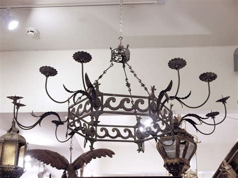 Period Lighting Fixtures Pair Of Period Italian Iron Louis Xvi 12 Arm Grand Light Fixtures At 1stdibs