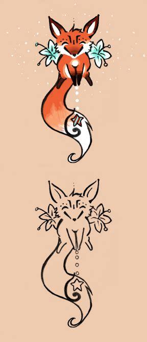 Fox Ekor Rubah Kitsune Small fox by spshlfx on deviantart