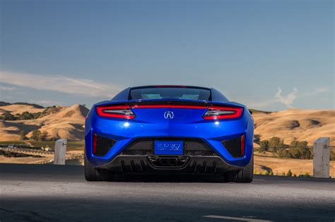 Acura Nsx Rear 2017 Acura Nsx Reviews And Rating Motor Trend