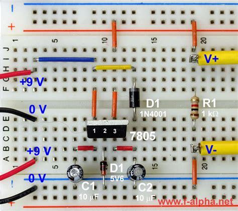voltage regulator using zener diode experiment f alpha net experiment 6 higher voltage ii