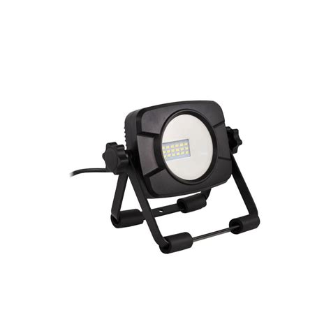 commercial electric light stand commercial electric 1 000 lumen led work light c1 1000ss