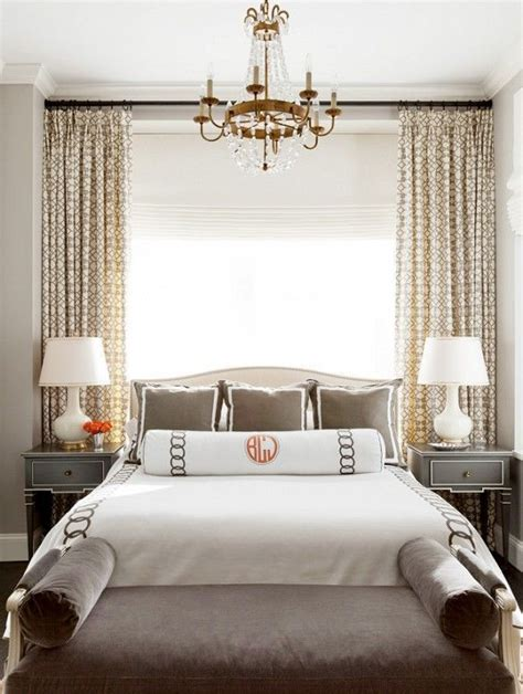 bedroom decor ideas dramatic window treatments