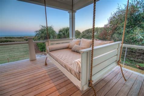 vintage porch swings charleston customer photos tropical porch charleston by