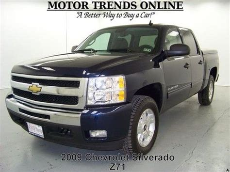 2009 chevy silverado lights find used 4x4 z71 lt crew cab bed cover fog lights