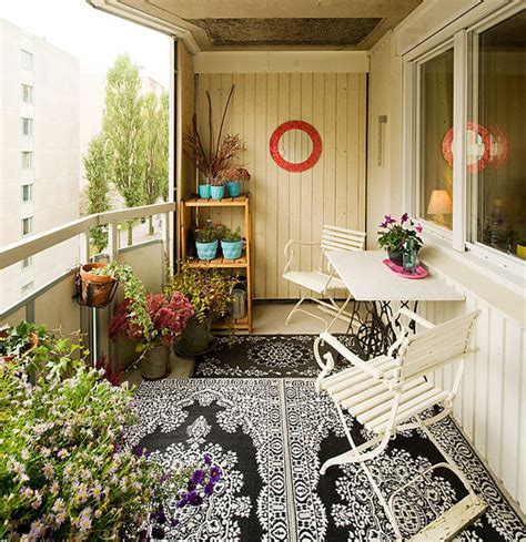 Balcony Decor Making Nice Lounge Place Or Sitting Area On Balcony 30