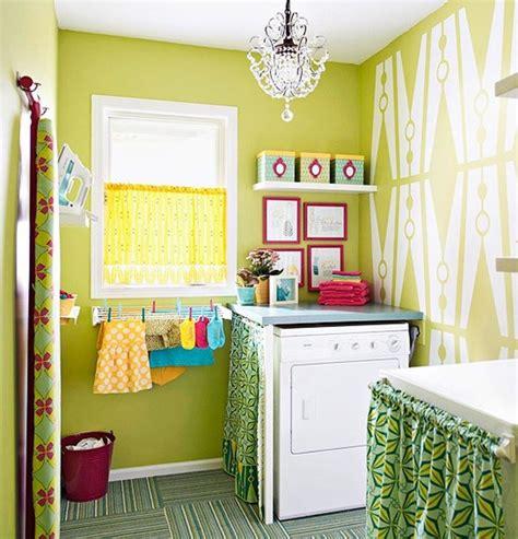 bright green bedroom bright green laundry room
