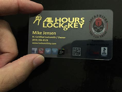 Make Plastic Business Cards