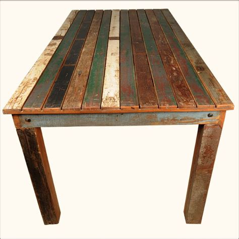 Distressed Wood Dining Room Table 25 B 228 Sta Distressed Wood Furniture Id 233 Erna P 229 Pinterest