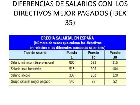 salarios de directivos de la udg 2016 la desigualdad causas y consecuencias
