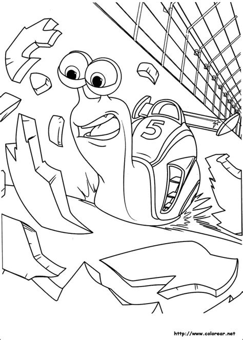 printable turbo coloring page turbo fast coloring coloring pages