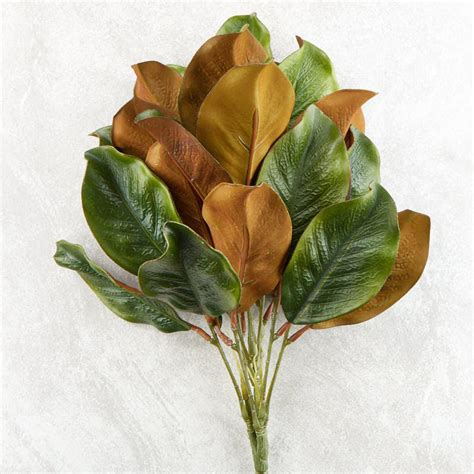 28 best artificial magnolia leaves 30 in unlit