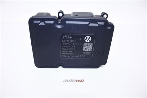 Abs Modulator 8p Audi A3 Vw neu original audi vw seat a3 8p abs steuerger 228 t esp 1k0907375as 1k0907375bd 1k0907379bh