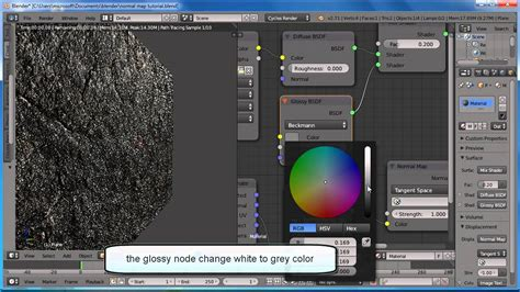 blender tutorial normal map blender tutorial how to apply normal maps cycles youtube