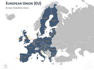 European Union Powerpoint Template by Europe Map Powerpoint Template