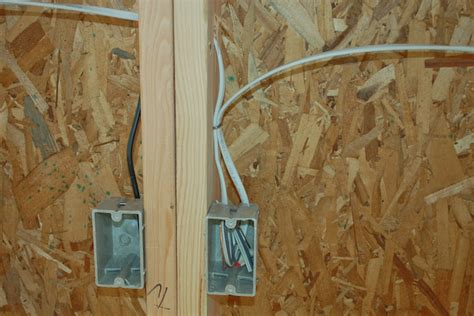 how to run electrical wire through studs 28 images