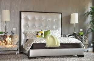 Design For Tufted Upholstered Headboards Ideas Bedroom Designs Silver Upholstered Bed With A Tufted Headboard Bedroom Character Black