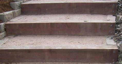 the 2 minute gardener photo landscape timber stairs the 2 minute gardener photo landscape timber stairs