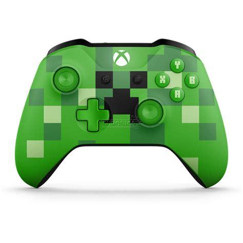 Microsoft Xbox Controller microsoft xbox one wireless controller minecraft creeper 889842182354