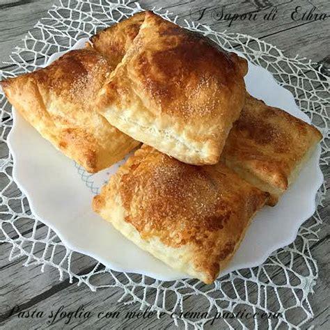 come si fa la crema pasticcera in casa pasta sfoglia con mele e crema pasticcera i sapori di ethra