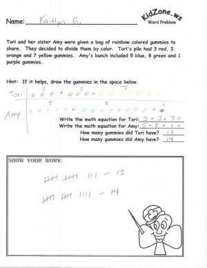 pop up math probloms card template kidzone math word problems