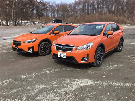 orange subaru crosstrek 2018 us market crosstrek officially announced page 7