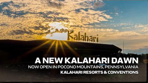 kalahari opens largest indoor water park  pennsylvania