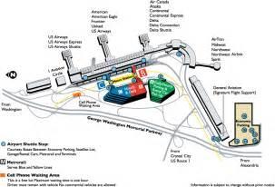 dca airport map map3