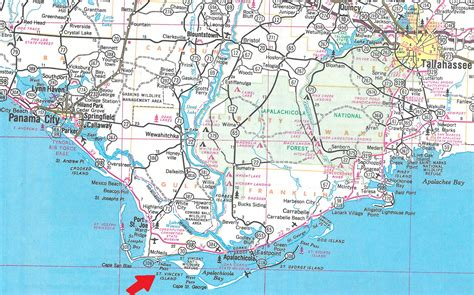 map of the islands and florida apalachicola bay the florida memory