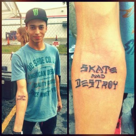 skate and destroy tattoo skate and destroy and tattoos and on