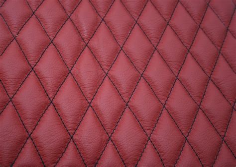Leather Quilted by Quilted Leather Seat Swatch Trim Technik