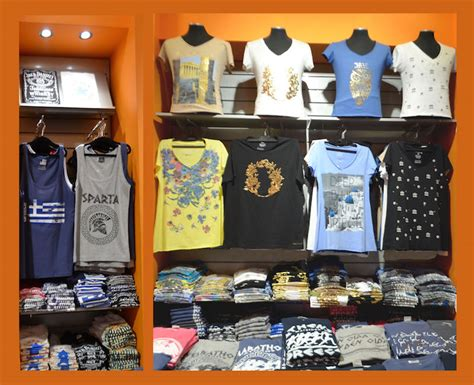 T Shirt Shop by George Dolkas T Shirt Shop In Athens Greece