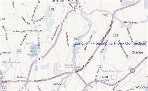 housatonic river map hill housatonic river connecticut tide station