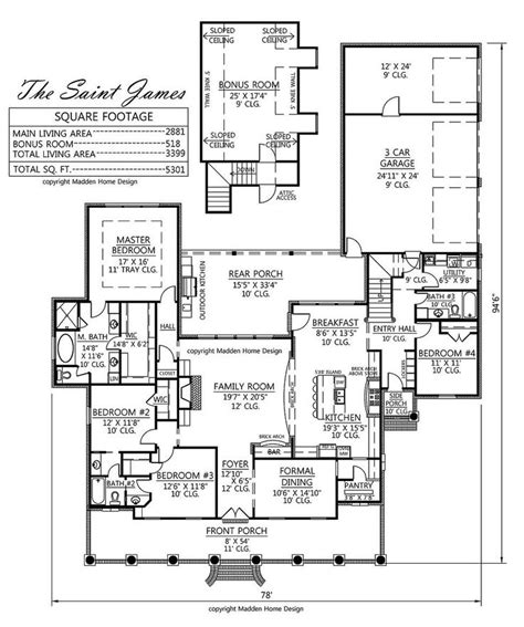 madden home design st house plans