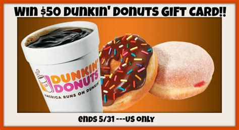 Where To Buy A Dunkin Donuts Gift Card - 50 dunkin donuts gift card giveaway super frugal stephanie