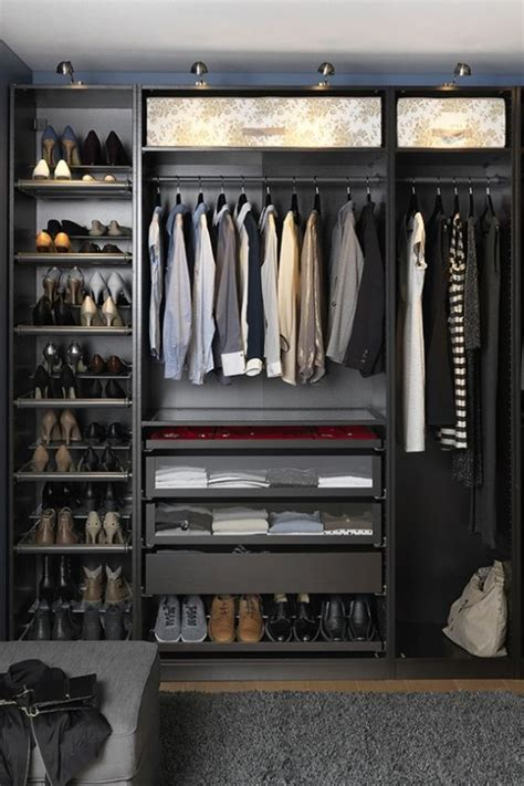 cool  smart ideas  organize  closet digsdigs