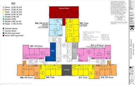 college floor plans floor plans college houses academic services