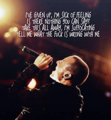 lyrics linkin park linkin park lyric quotes quotesgram