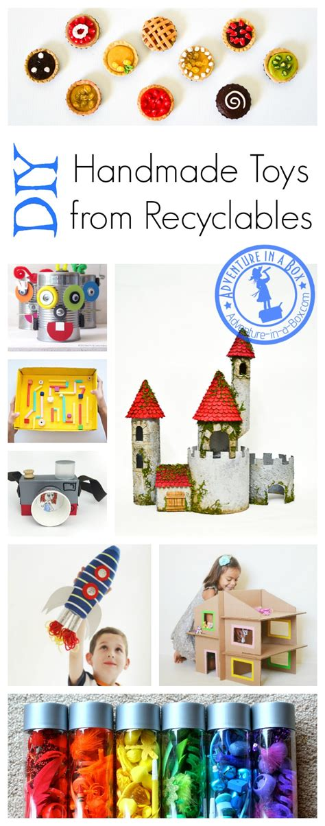 diy toys  kids  recyclable materials adventure